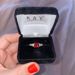 Kay Jewelers Garnet Ring.